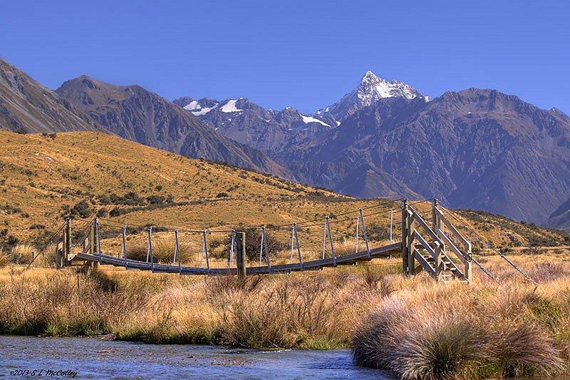 Bridge at Mt. Sunday
