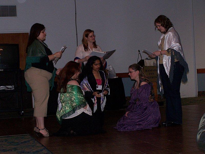 Amaria, Lireina,Zashara, Eleyan, Melisande, and Jenarra