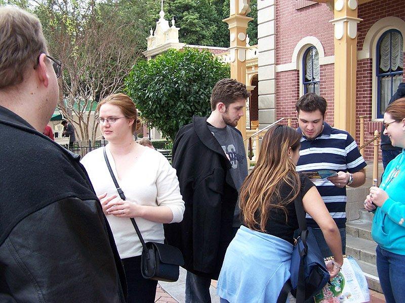 Gathering at Disneyland