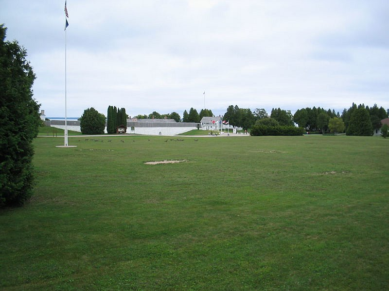 Fort parade ground