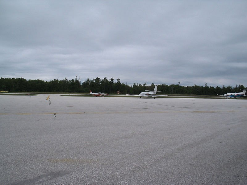 Mackinac Island airport
