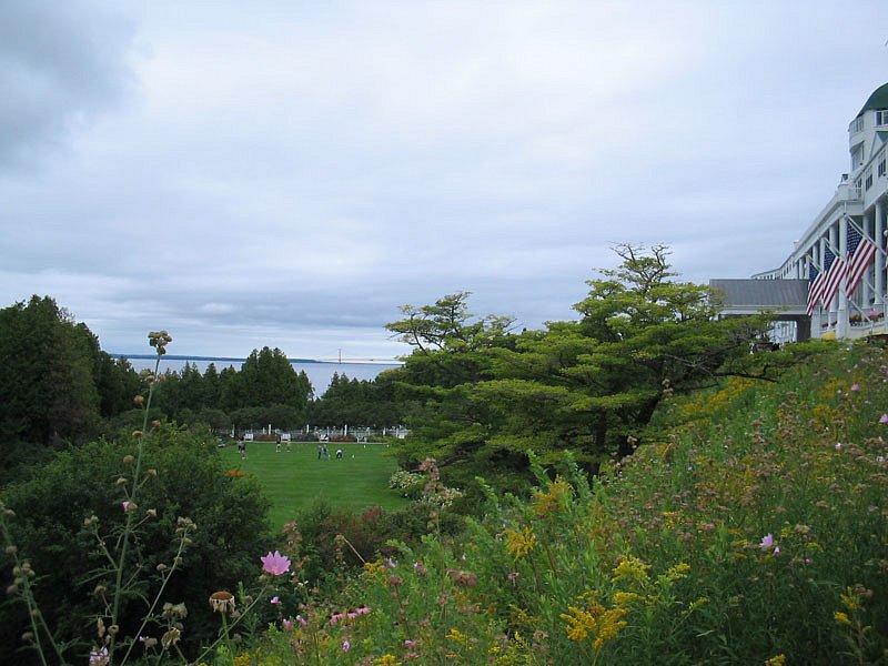 Grand Hotel lawn