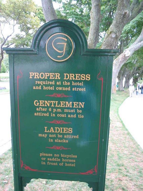 Grand Hotel rules